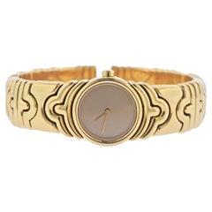 Bulgari Parentesi Yellow Gold Watch Bracelet BJ01