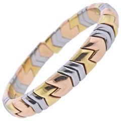 Bulgari Rose Yellow Gold Steel Bracelet