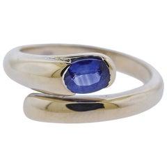 Bulgari Sapphire Gold Ring