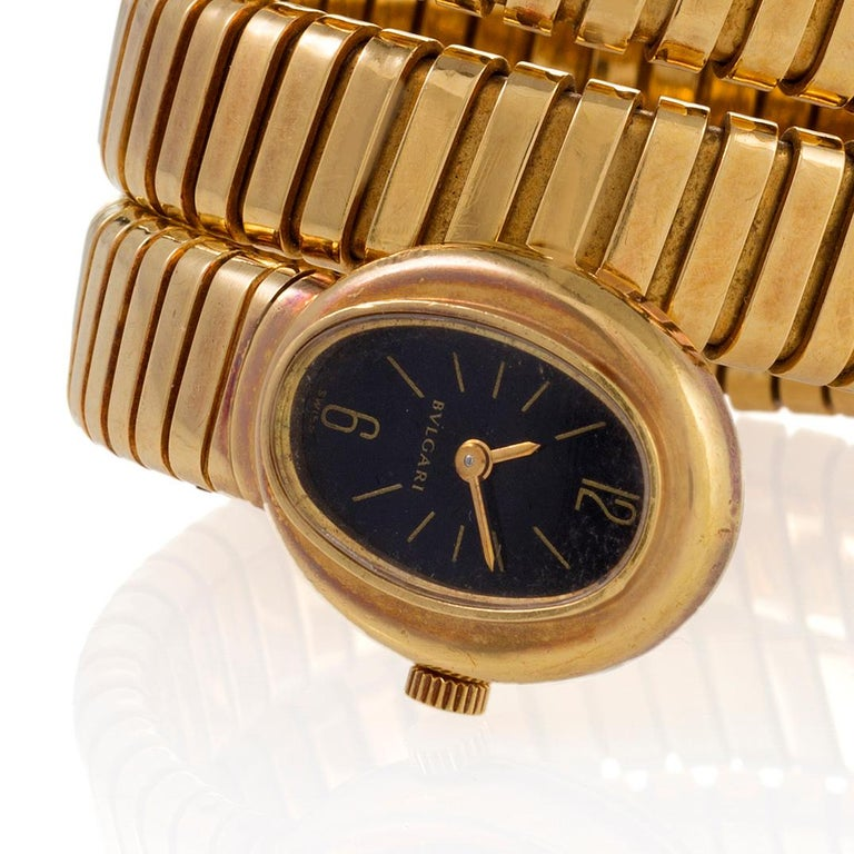 Women's Bulgari Serpenti Tubogas Bracelet Watch