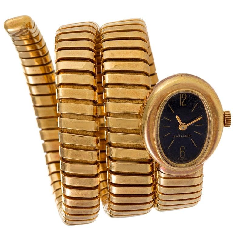 Bulgari Serpenti Tubogas Bracelet Watch
