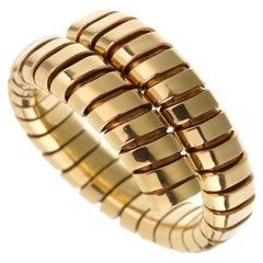 Bulgari Spiga Yellow Gold Vintage Ring
