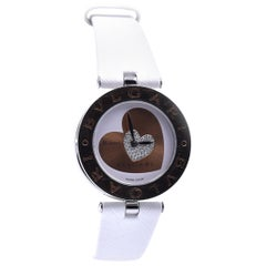 Bulgari Stainless Steel B. Zero 1 18k Rose Gold and Stainless Steel Watch Ref. B