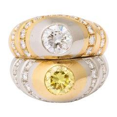 Bulgari Toi et Moi Twin Diamond Ring