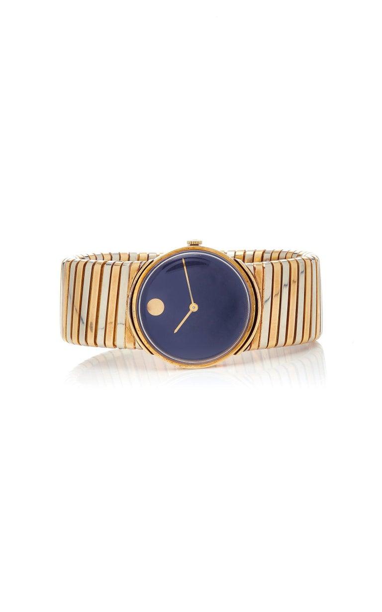 Bulgari Tricolor Gold Tubogas Wristwatch  For Sale 1