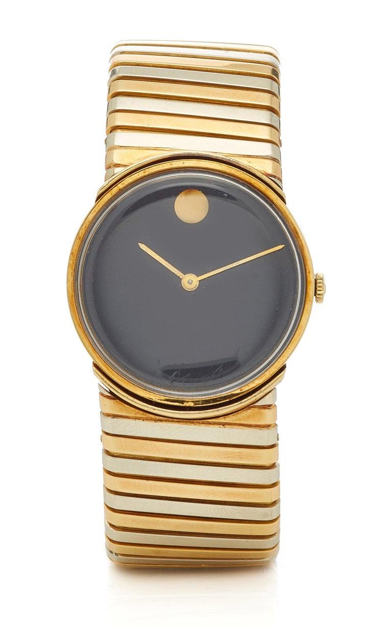 Bulgari Tricolor Gold Tubogas Wristwatch  For Sale 3