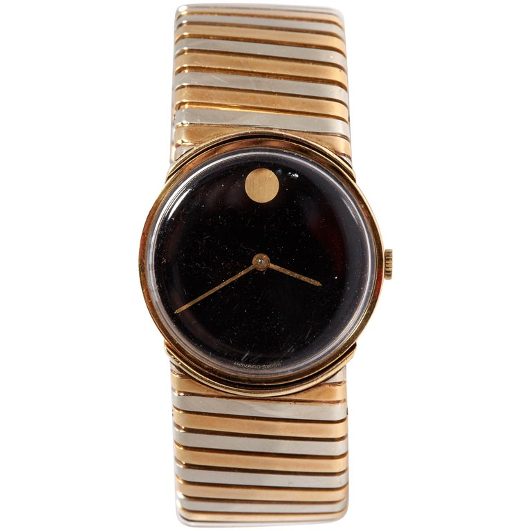 Bulgari Tricolor Gold Tubogas Wristwatch  For Sale