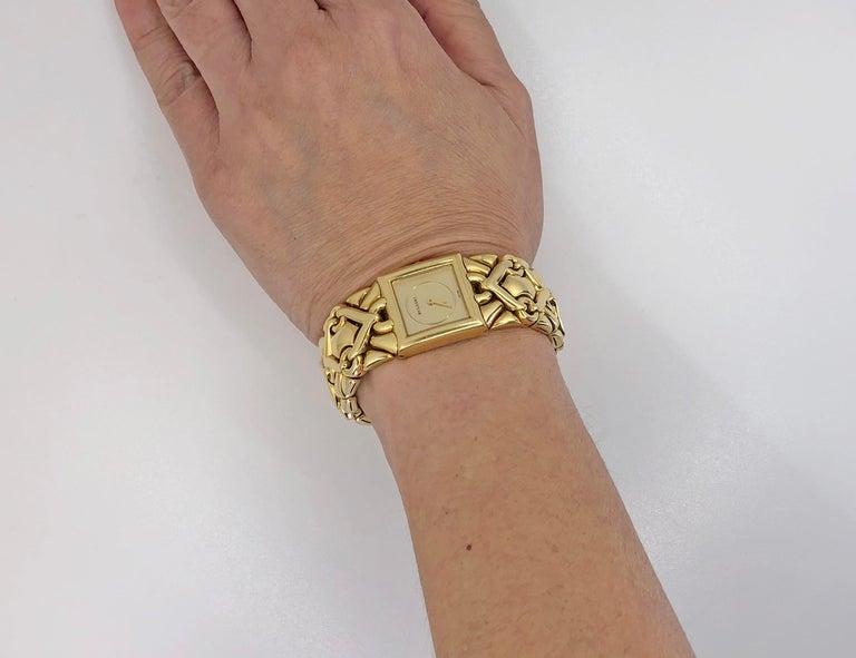 Bulgari Trika Ladies Gold Watch For Sale 1
