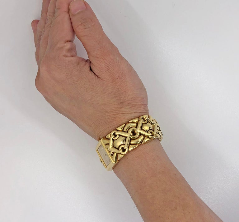 Bulgari Trika Ladies Gold Watch For Sale 2