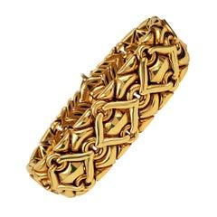 Bulgari Trika Yellow Gold Bracelet