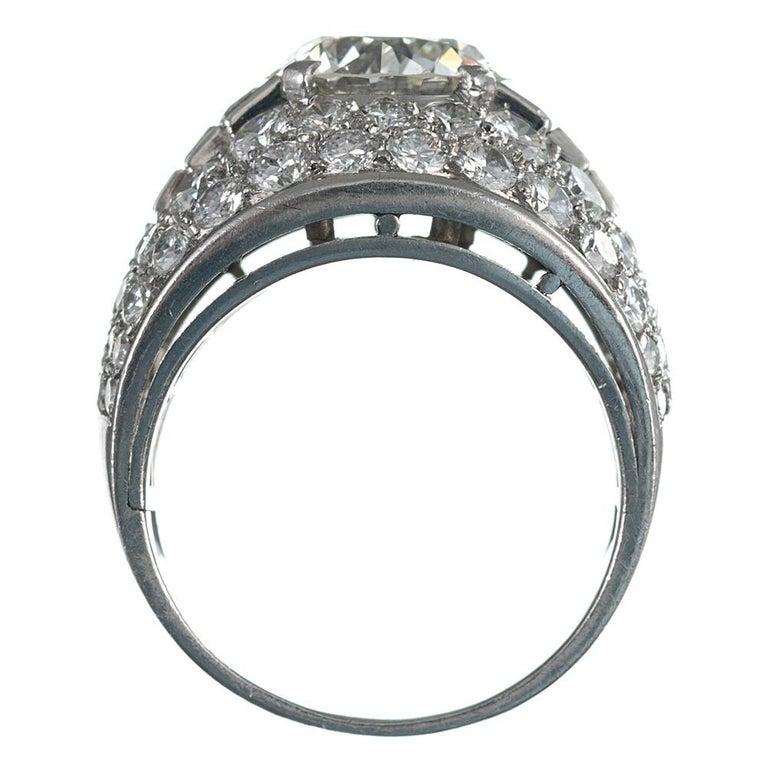 "Women's Bulgari ""Trombino"" 3 Carat Diamond Center Ring For Sale"