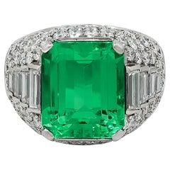 Bulgari Trombino Emerald, Diamond Ring