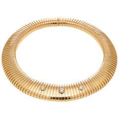Bulgari Tubogas Diamond Necklace