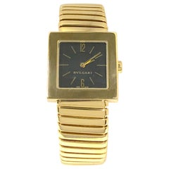 Bulgari Tubogas Yellow Gold Wristwatch