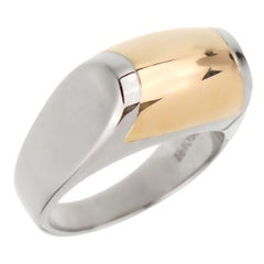 Bulgari Two-Tone Cocktail Ring