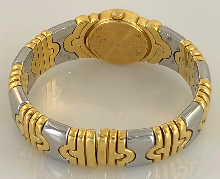Bulgari Two-Tone Gold Watch In Good Condition For Sale In New York, NY