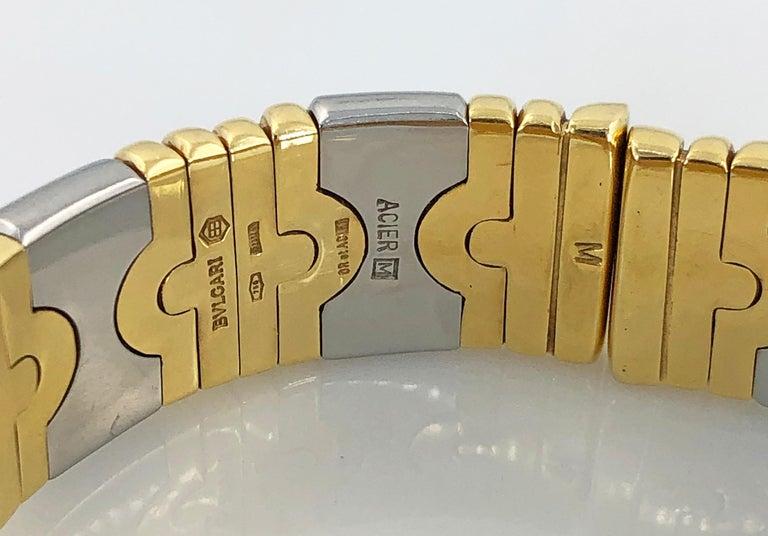 Women's Bulgari Two-Tone Gold Watch For Sale