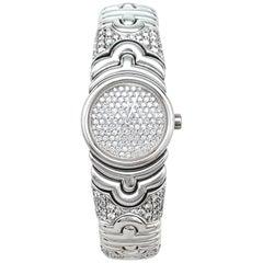 """Bulgari Watch """"Parentesi"""" Collection Set with Diamonds"""