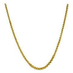 Bulgari Wheat Link Necklace