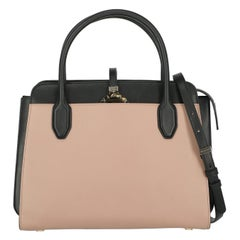 Bulgari Woman Handbag  Black Leather