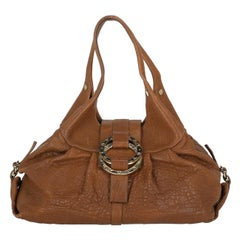 Bulgari Woman Shoulder bag  Brown Leather