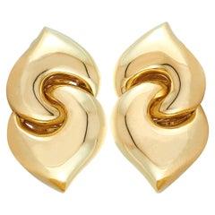 Bulgari Yellow Gold Clip-On Earrings