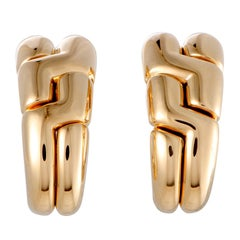 Bulgari Yellow Gold Clip-On Earrings