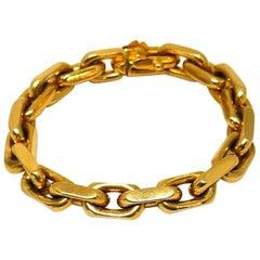 Bulgari Yellow Gold Vintage Chain Bracelet