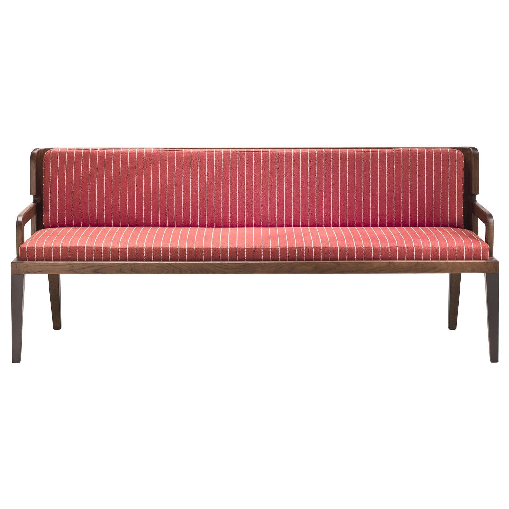 Bulle Small Sofa in Solid Oak