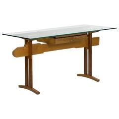 'Bullet Train' Modern Writing Table Desk by Robert Sorrell, circa 1980s
