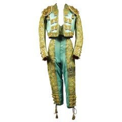 Bullfighter's Outfit Toreador Labelled Manfredi Sevilla 20th Century
