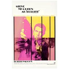 Steve McQueen Bullitt '1968', Poster