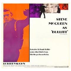 Bullitt '1968' Poster