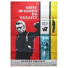 Bullitt, '1968' Poster