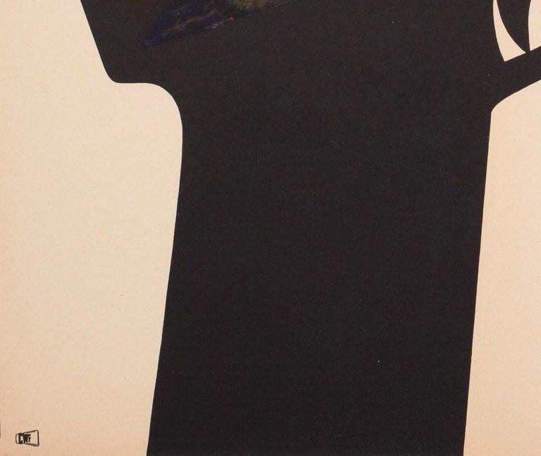 20th Century Bullitt 1971 Polish A1 Film Movie Poster, Stachurski For Sale