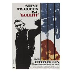 'Bullitt' Film Poster