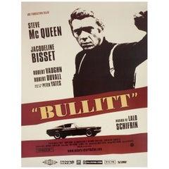 'Bullitt' R2006 French Petite Film Poster
