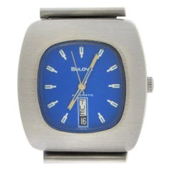 Bulova 1970s Automatic Blue Dial