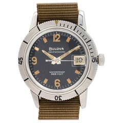 "Bulova Diver's ""Snorkel"" Ref# 386-3 666 Feet, circa 1960s"