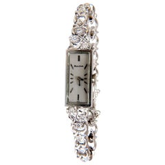 Bulova Ladies Diamond Watch 14 Karat .40 Carat Natural Diamonds