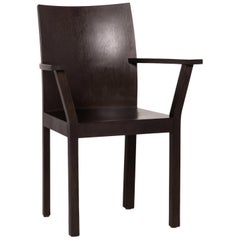 Bulthaup Nemus Wood Chair Brown Dark Brown