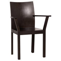 Bulthaup Nemus Wood Chair Dark Brown Brown