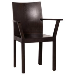 Bulthaup Nemus Wood Chair Dark Brown