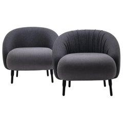 Bump Chair, Pure Wool Armchair, Classic Tight Fit, by Nigel Coates