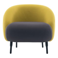 Bump Yellow and Gray Armchair