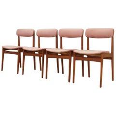Bundgaard Rasmussen Chairs Vintage 1960-1970 Teak