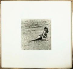 Bettie Page, Miami Beach, Florida, 1954, Gelatin Silver Print, Hand Printed 1988