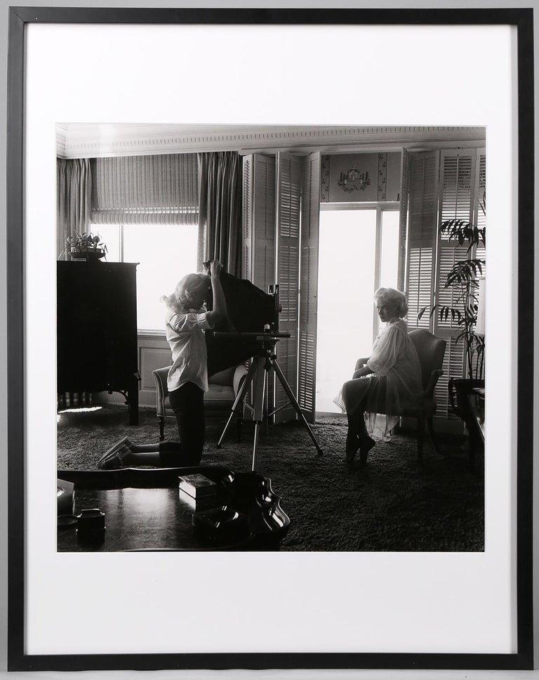 Bunny with Lori Shea (Interior) - Photograph by Bunny Yeager
