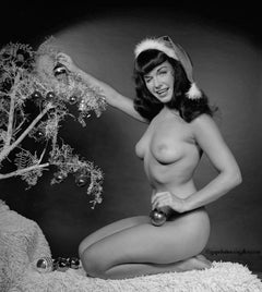 Christmas Bettie Page (Playboy Centerfold)