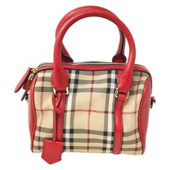 Burberry 3925930 Small Alchester Beige Red Ladies Handbag Purse